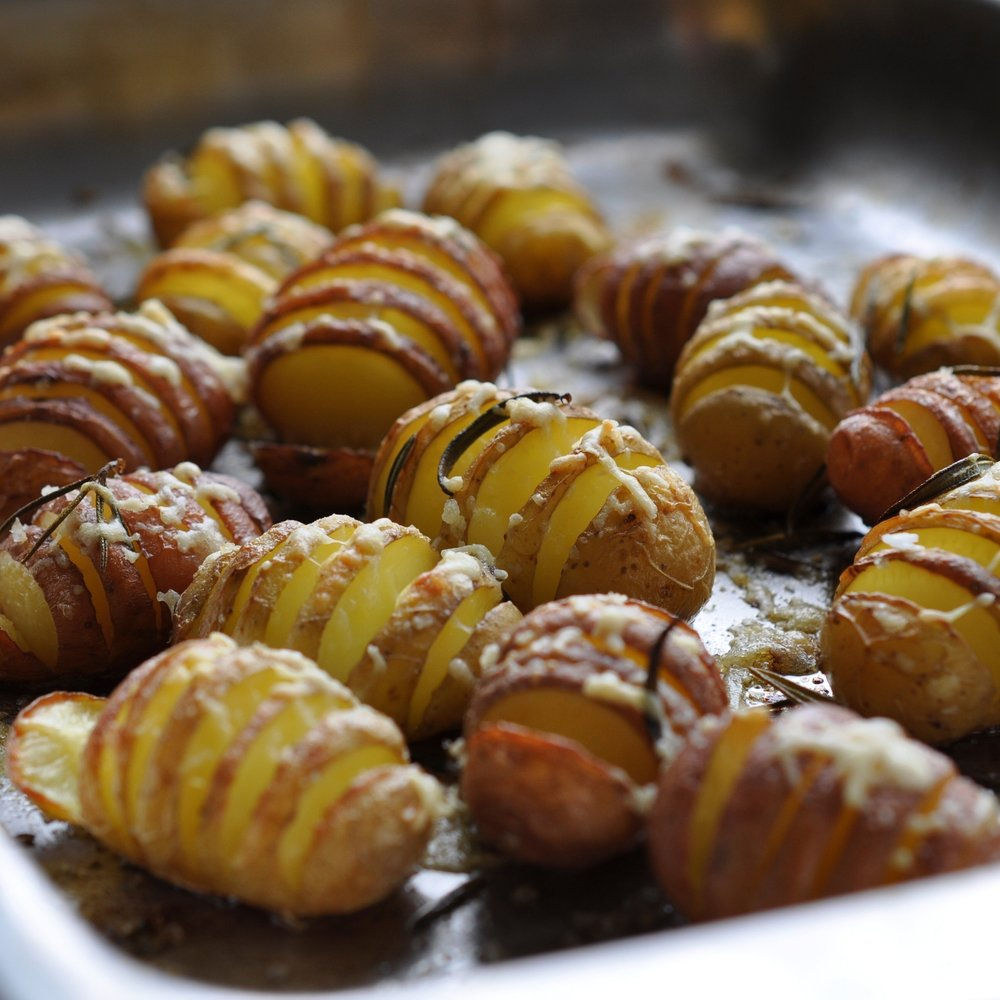 Crunchy piccolos potatoes