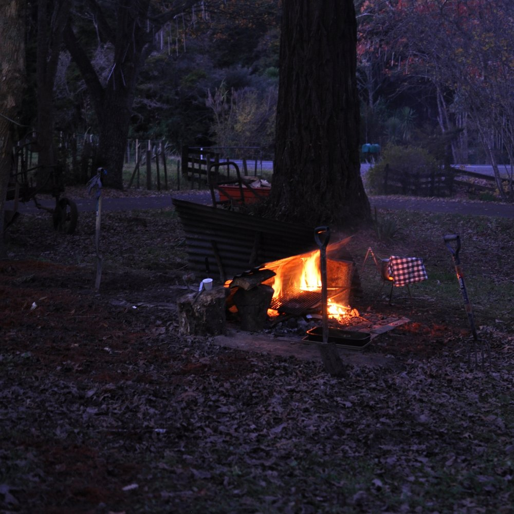 Stoking the hangi pit fire.jpg