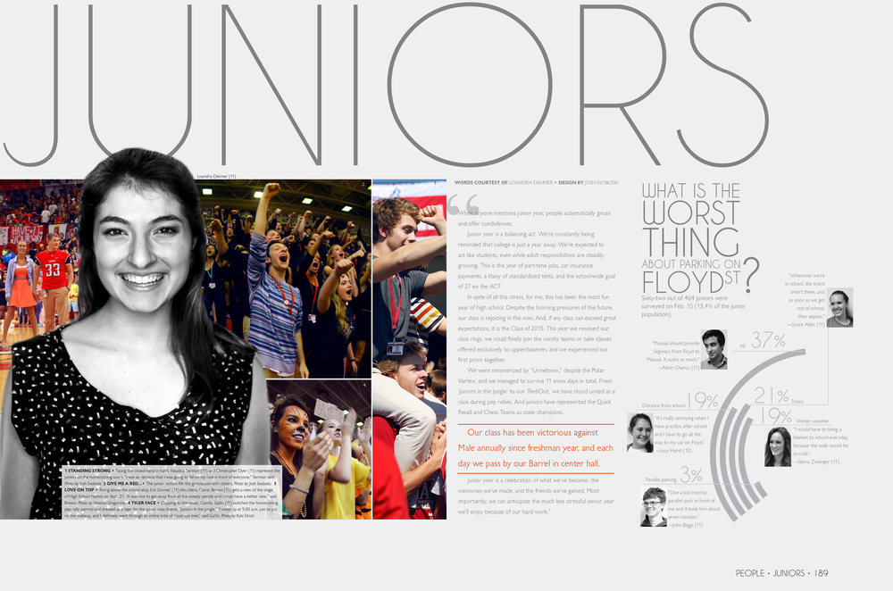 Juniors Divider Page