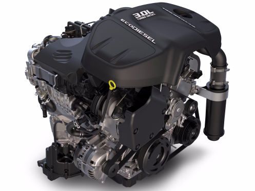 "The RAM 1500's 3.0-liter, EcoDiesel V6 engine is the first of two holdovers from last year's winners. In fact, this is the EcoDiesel's third win in a row. With 420 lb.-ft. of torque on tap and 25 mpg, Ward's calls the Italian-built engine the ""gold standard for refinement and fuel economy"" for the segment."