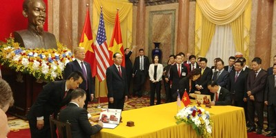 Navistar and its Vietnam Distributor sign MOU to export up to $1.8 billion in vehicles and parts to Vietnam over next 10 years.