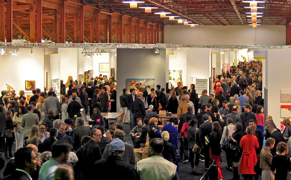 Opening night, artMRKT San Francisco