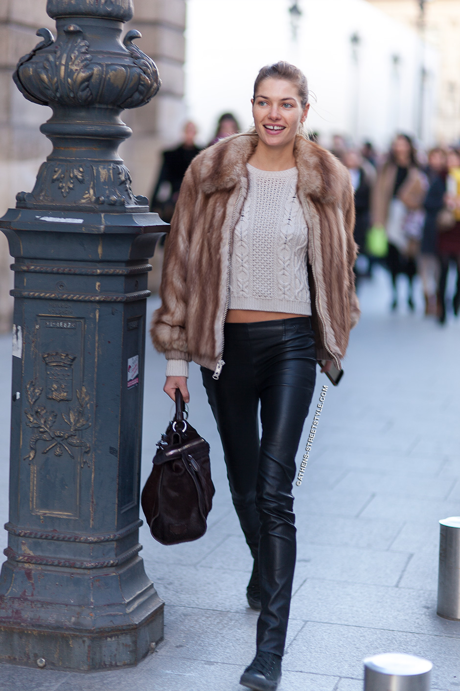 Jessica-Hart-Paris-Fashion-Week-Fall-Winter-2014-2015-Street-Style-1