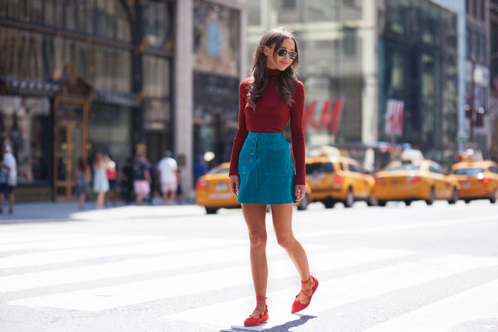 bridget bahl new york street style fall 15