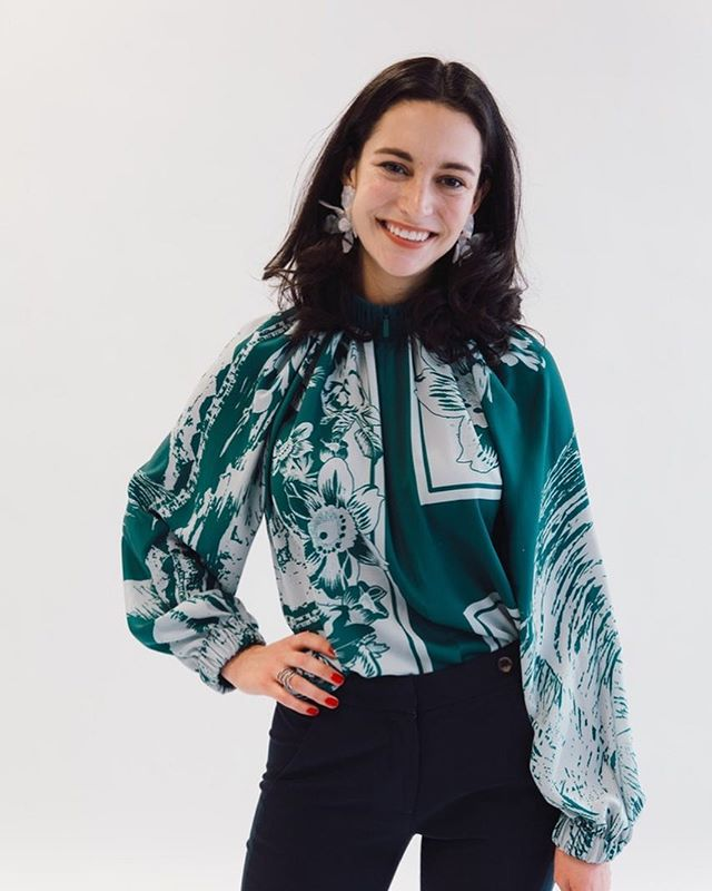 Meet Melina Flabiano, a 2nd year MBA at Wharton and budding entrepreneur! She recently launched her women's workwear company, @wear.keaton and Wharton Women is hosting her for our next GBM on 04/02. She'll be discussing her path to becoming an entrepreneur and what inspired to be a trendsetter in the retail space! #shewearsthepants #wearkeaton