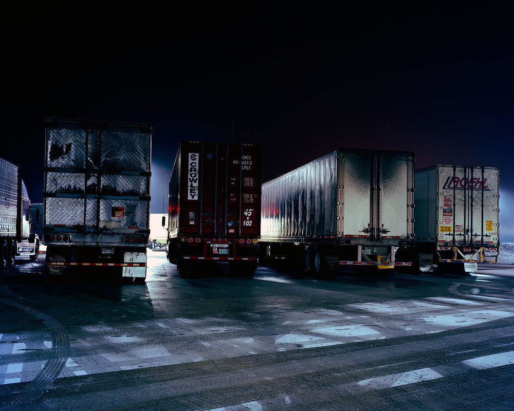 Sleeping Trucks, Milton, OH 2009