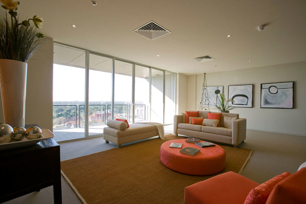 Large, open plan living spaces give maximum flexility and enjoyment to occupants