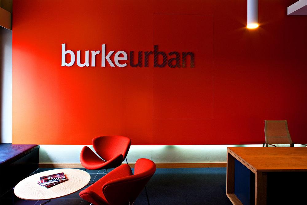 The interior lobby communicates maximum brand