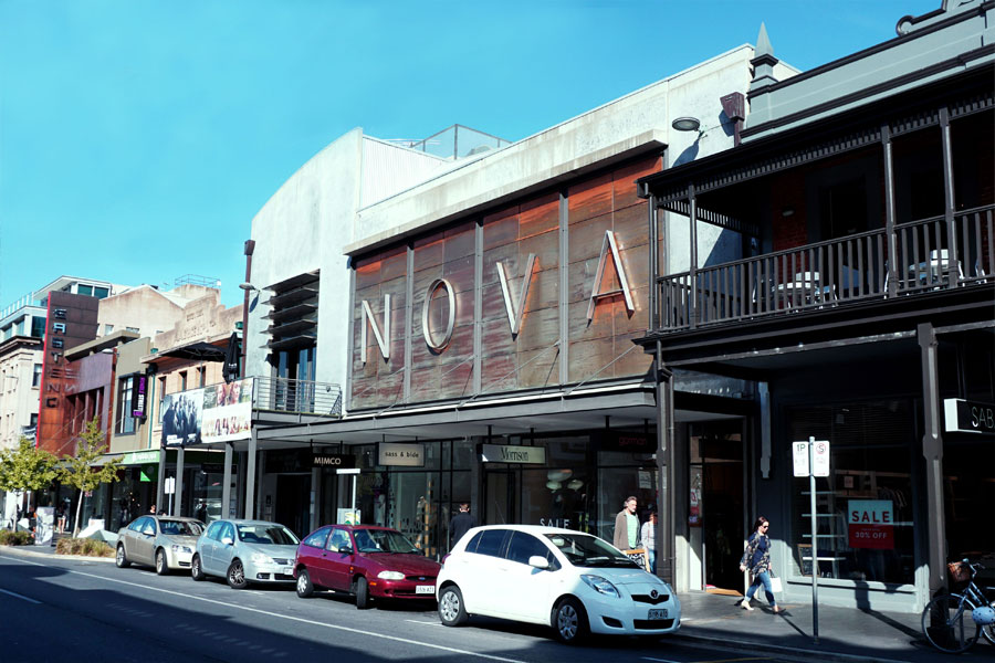 Almost 20 years later, Cinema Nova still looks the part (image from 2015)