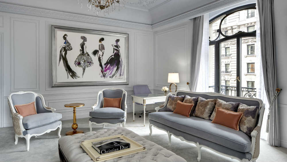 Fashion Forward - Dior Suite St. Regis New York