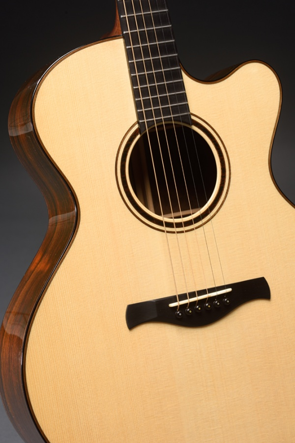 Model BK Cutaway, German Spruce top