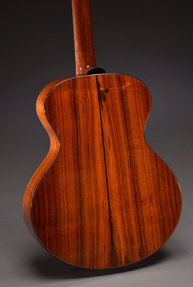 Old-growth straight-grain Brazilian Rosewood