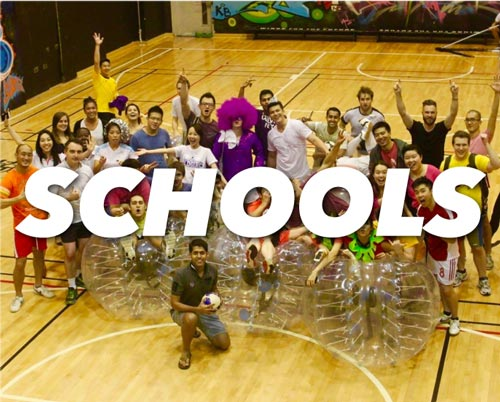 BubbleBall DC School and University Events