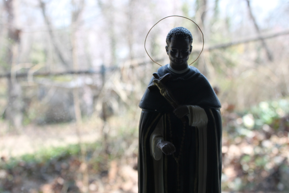 silhouette - St. Martin de Porres.JPG