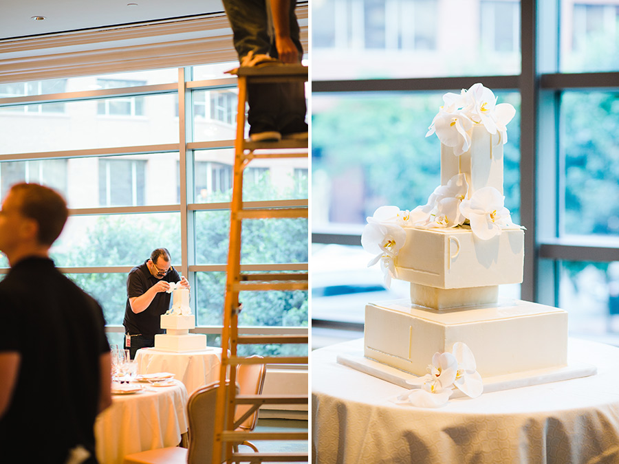 Hannah & Tj Beautiful Wedding at the Four Seasons Boston  wedding cake photography