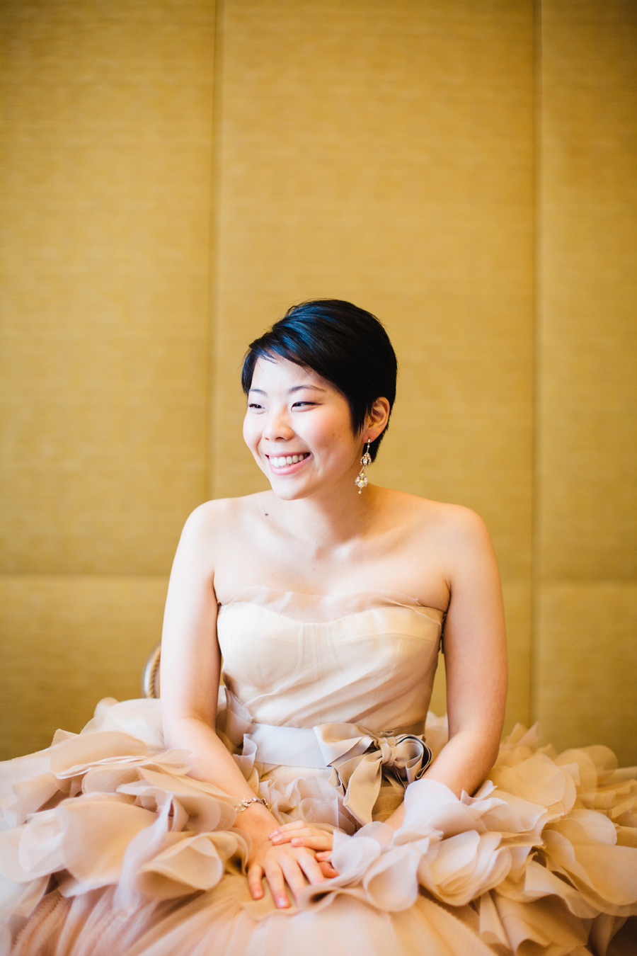 Hannah & Tj Beautiful Wedding at the Four Seasons Boston - Photography vera wang wedding dress