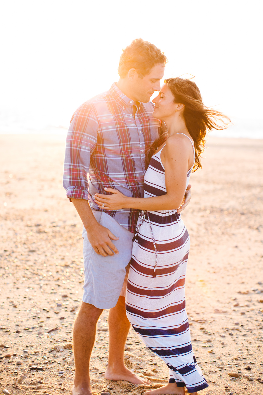 Jenny & Rob's sunset p-town engagement photography