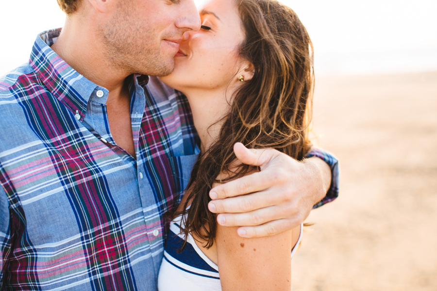 Jenny & Rob's beautiful and romantic sunset Race Point Beach engagement photography in Provincetown, MA (12)