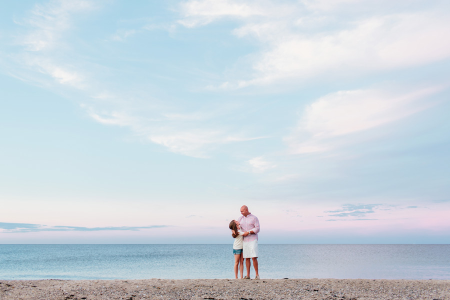 Courtney & Ben's Beach Engagement session in sandwich , MA Cape Cod photographer (10)