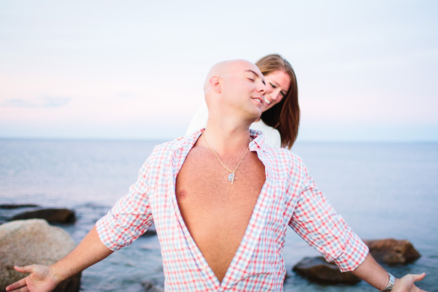 Courtney & Ben's Beach Engagement session in sandwich , MA Cape Cod photographer (9)