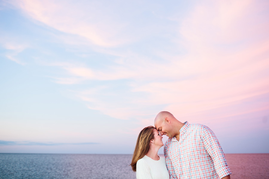 Courtney & Ben's Beach Engagement session in sandwich , MA Cape Cod photographer (5)