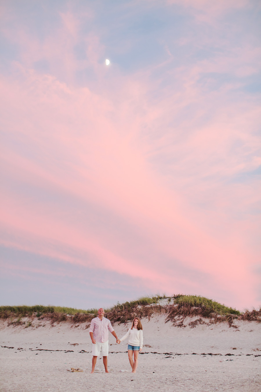 Courtney & Ben's Beach Engagement session in sandwich , MA Cape Cod photographer (3)