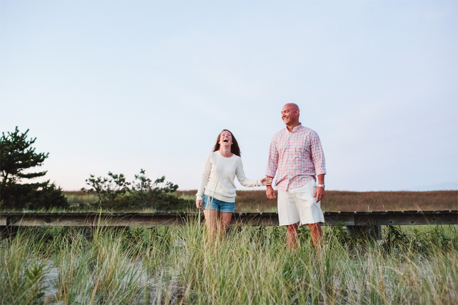 Courtney & Ben's Beach Engagement session in sandwich , MA Cape Cod photographer (2)