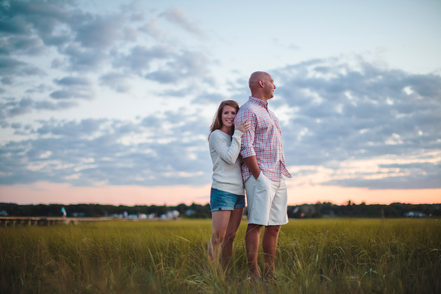 Courtney & Ben's Beach Engagement session in sandwich , MA Cape Cod photographer (1)