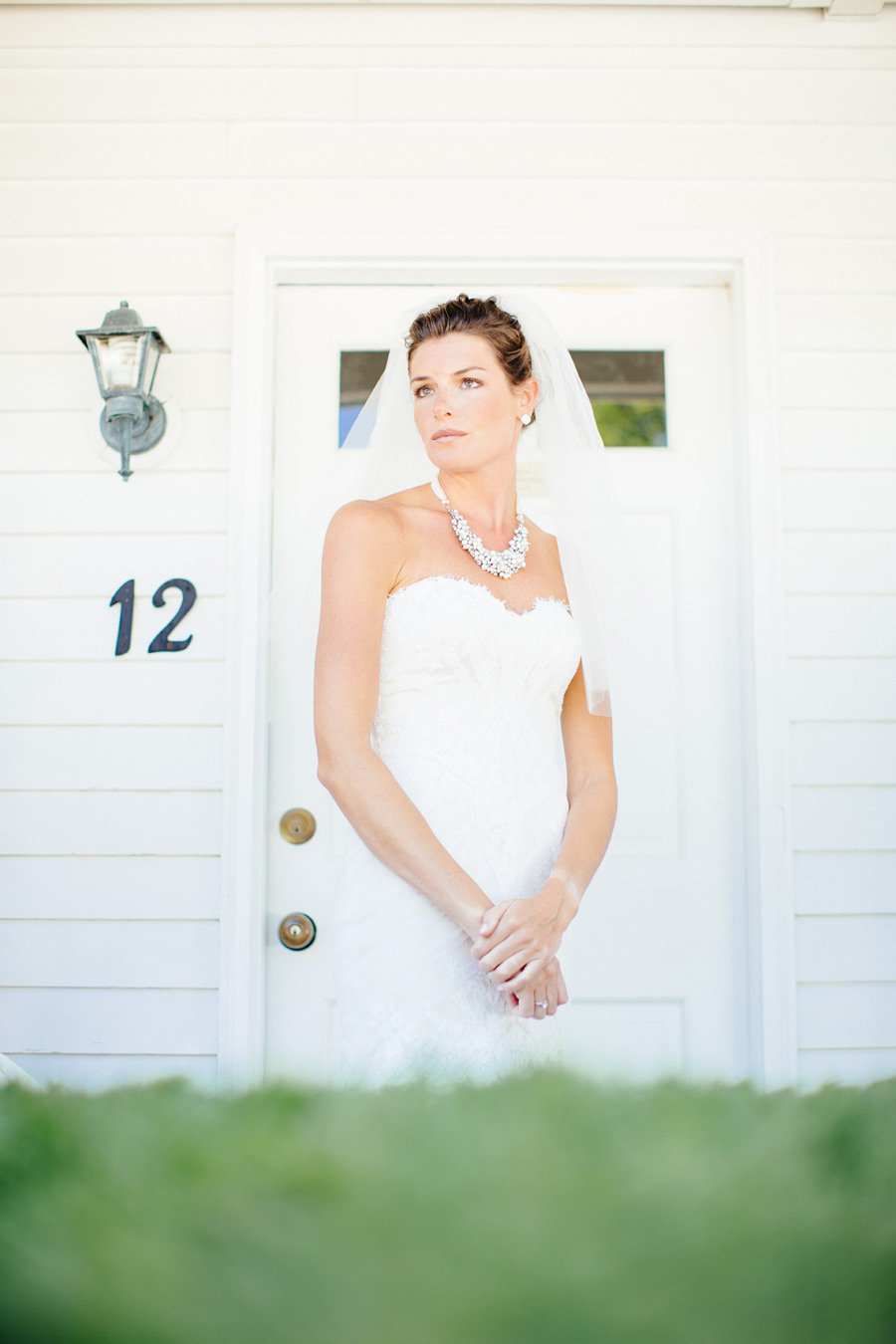 Michaeleen bridal portrait in Wolfeboro, NH at the Inn on the Main