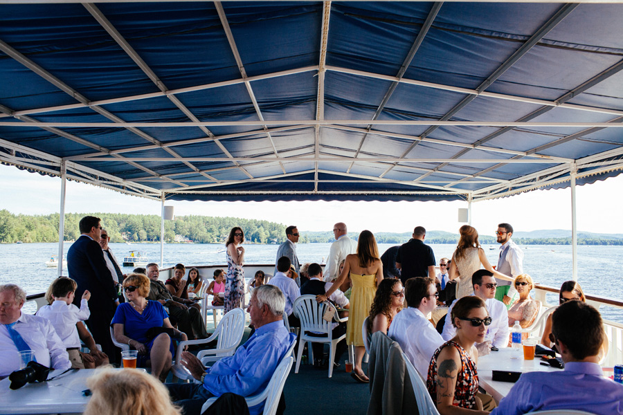 Michaeleen & Sean's Amazing Wolfeboro, NH Wedding at the Pinckney Boat House (25)