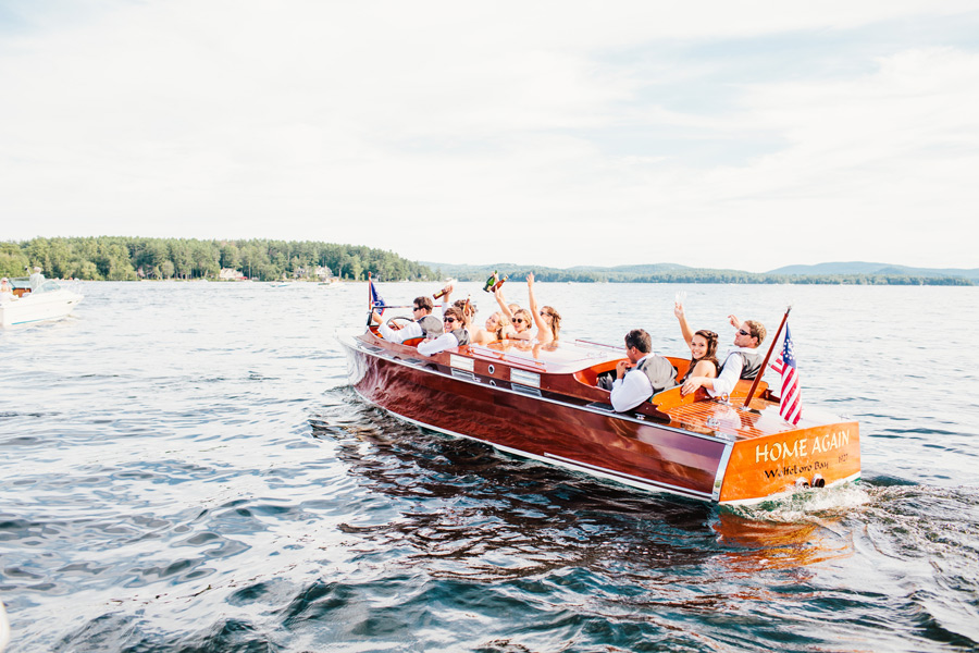 Michaeleen & Sean's Amazing Wolfeboro, NH Wedding at the Pinckney Boat House (38)