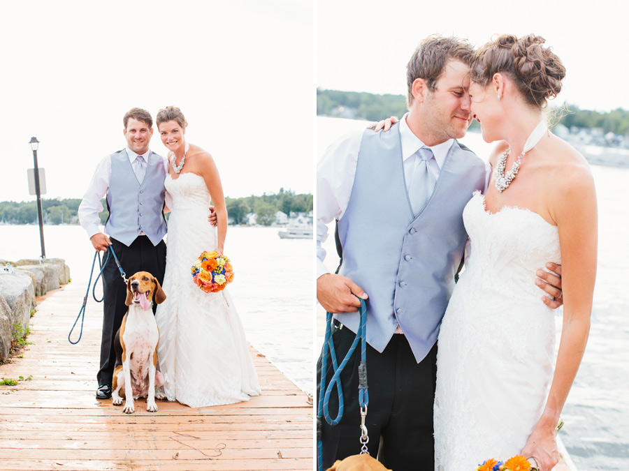 Michaeleen & Sean's Amazing Wolfeboro, NH Wedding at the Pinckney Boat House (39)