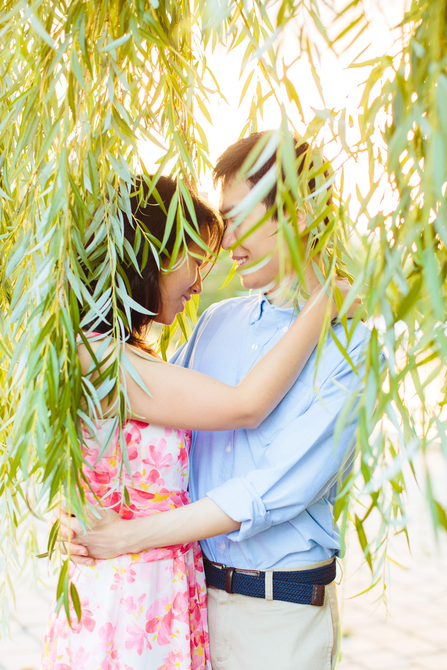 Ting & Dan's Boston Beacon Hill and Esplanade Engagement Photography (10)