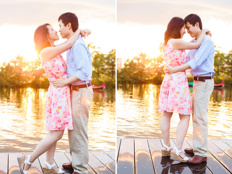 Ting & Dan's Boston Beacon Hill and Esplanade Engagement Photography (7)