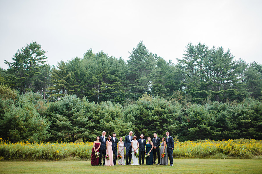 Eden & Duncan's amazing wedding at rustic bishop farms in lisbon nh, new england rustic wedding photography (32)