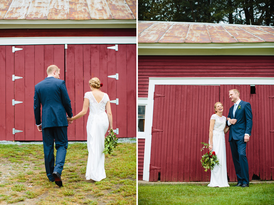 Eden & Duncan's beautiful rustic inspired wedding at bishop farms in lisbon, nh wedding photography - portraits