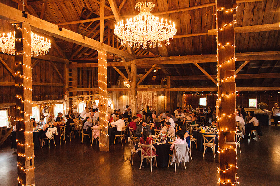 beautiful new england destination barn venue - rustic inspired weddings at bishop farms in lisbon, nh