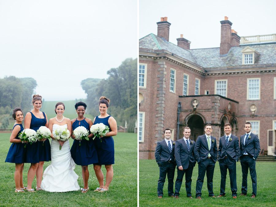 Genevieve & Brett's Gorgeous Wedding at the Crane Estate in Ipswich, MA (27)
