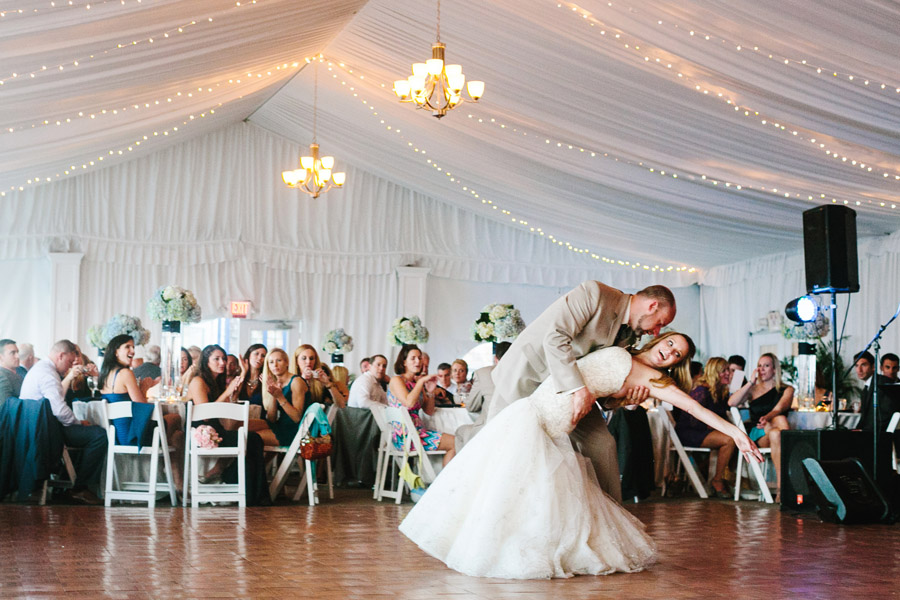 first dance at the newport yachting center wedding photographers boston rhode island