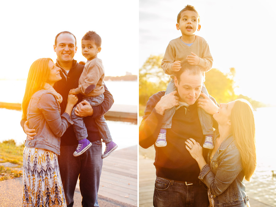 Katie & Ben's awesome family photos at the boston esplanade during a beautiful sunset (5)