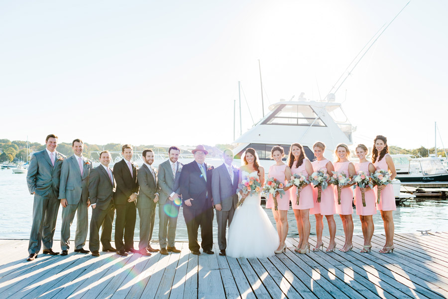 Rachael & Brian's amazing modern and stylish Scituate Harbor Yacht Club Wedding Photography in Scituate, MA (57)