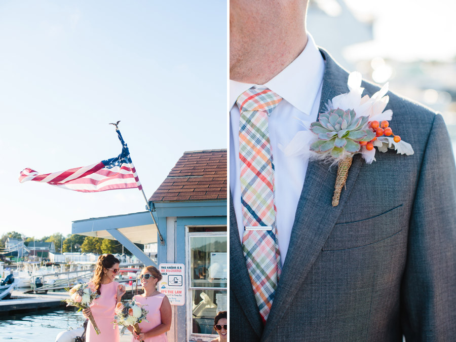 Rachael & Brian's amazing modern and stylish Scituate Harbor Yacht Club Wedding Photography in Scituate, MA (55)