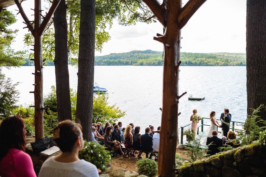 Ripley & Tim's lovely lake house wedding in new hampshire on newfound lake - wedding photography (25)