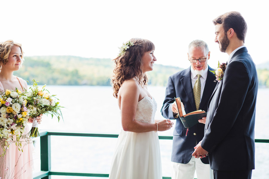 Ripley & Tim's lovely lake house wedding in new hampshire on newfound lake - wedding photography (27)