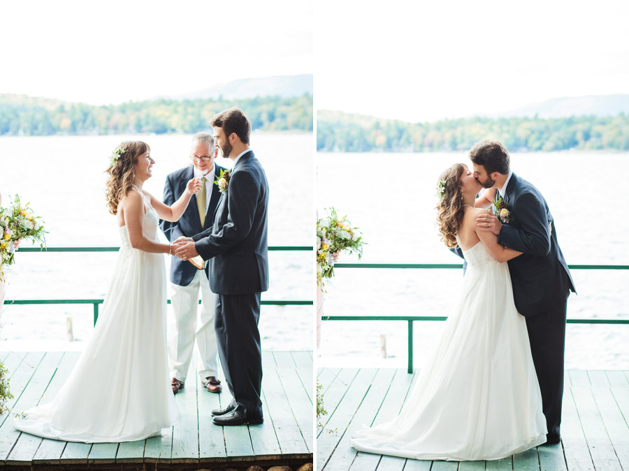 Ripley & Tim's lovely lake house wedding in new hampshire on newfound lake - wedding photography (28)