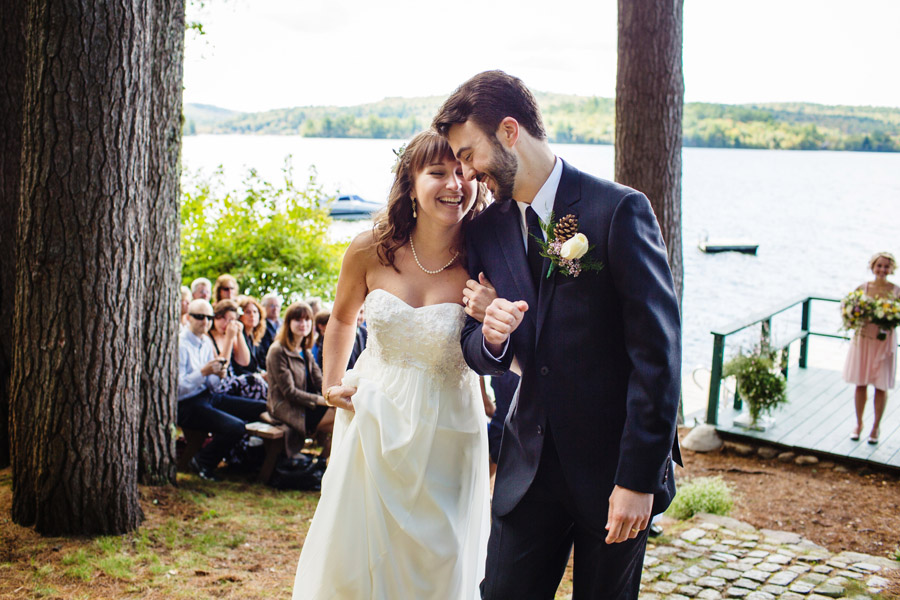 Ripley & Tim's lovely lake house wedding in new hampshire on newfound lake - wedding photography (29)