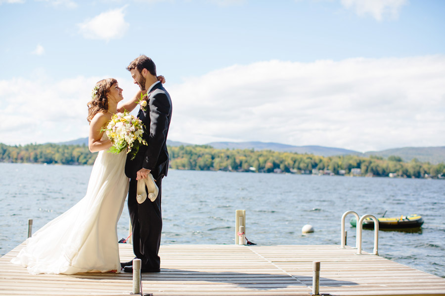 Ripley & Tim's lovely lake house wedding in new hampshire on newfound lake - wedding photography (30)