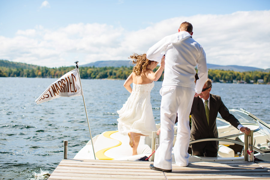 Ripley & Tim's lovely lake house wedding in new hampshire on newfound lake - wedding photography (32)