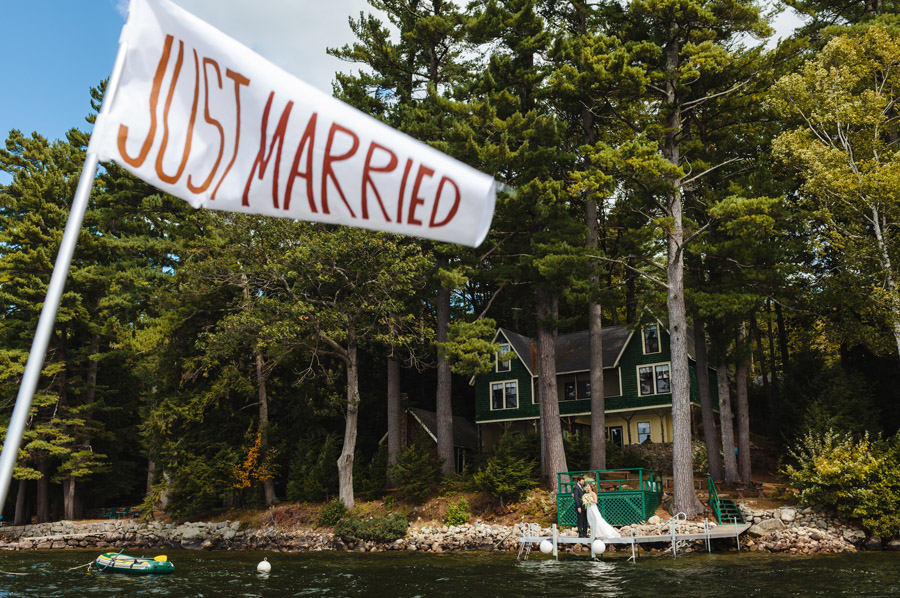 Ripley & Tim's lovely lake house wedding in new hampshire on newfound lake - wedding photography (39)
