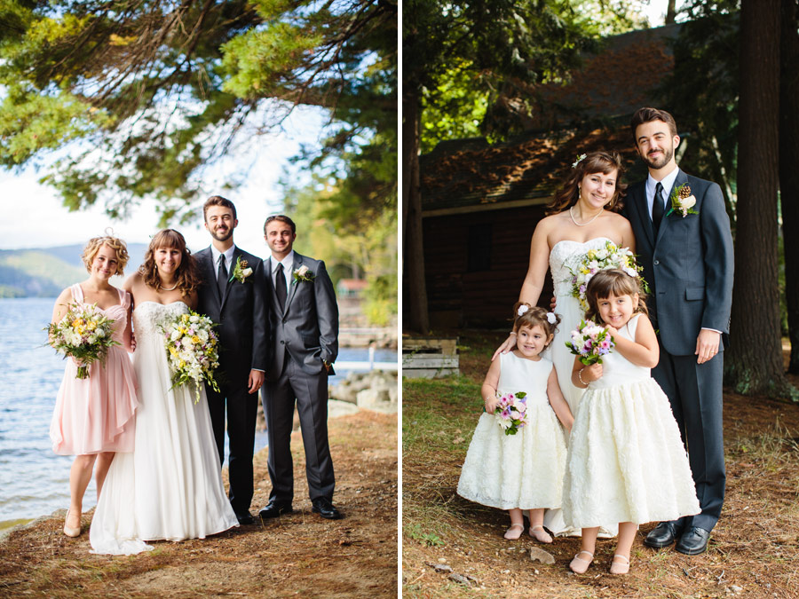 Ripley & Tim's lovely lake house wedding in new hampshire on newfound lake - wedding photography (42)